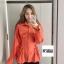 Korea Tie waist Shirt thumbnail 10