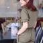จั้มสูทกางเกงขาสั้น Military Playsuit thumbnail 4