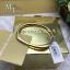Michael Kors Gold Pave Brilliance Hinge Bangle Bracelet MKJ5503 thumbnail 2
