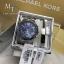 Michael Kors Bradshaw Blue Silver Chronograph MK5883 + Bracelet Set thumbnail 1