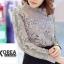 เสื้อแฟชั่น Elegance Lace Blouse by ChiCha's สีขาว thumbnail 10