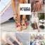 รองเท้าแฟชั่น Summer Pom Pom Sandals thumbnail 5