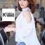 Very Pleaty Cut-Shoulder Blouse by ChiCha's thumbnail 7