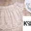 เสื้อแฟชั่นปักฉลุเกาหลี thumbnail 8