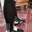 ถุงเท้ากันลื่น H3 Super ยาว (สีดำ) thumbnail 13