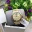MK Everest Gold Tone Chronograph Glitz Dial Watch - MK5849 thumbnail 1
