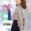 เสื้อแฟชั่น Elegance Lace Blouse by ChiCha's สีขาว thumbnail 8