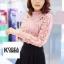 เสื้อแฟชั่น Elegance Lace Blouse by ChiCha's สีขาว thumbnail 4