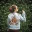 แจ็คเก็ต AEO Tiger with Embroidery Denim Jacket thumbnail 1