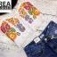 เสื้อแฟชั่น Fiona Embroidery Spaghetti Strap Crop สีดำ thumbnail 13