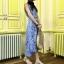 แม็กซี่เดรส Majestic Lace Maxi Dress thumbnail 3