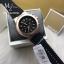 นาฬิกาข้อมือ MICHAEL KORS รุ่น Dylan Chronograph Black Dial Black Rubber Men's Watch MK8184 thumbnail 3