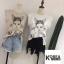 เสื้อแฟชั่น Avril Francais Sleeveless wt jewel Top thumbnail 2