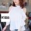 Very Pleaty Cut-Shoulder Blouse by ChiCha's thumbnail 8