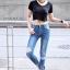 กางเกงยีนส์ Super Skinny CPS Denim thumbnail 2