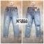 กางเกงยีนส์แฟชั่น Boyfriend Distressed Jeans thumbnail 4