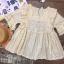 เสื้อลูกไม้ Embroidered Lace Midi Dress thumbnail 10