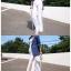 กางเกงผ่าข้าง Korea Slit-hem Pants สีดำ thumbnail 6