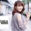 ชุดเดรสแฟชั่น Lilly Cut Shoulder Lace Dress by ChiCha's สีเทา thumbnail 3