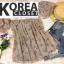 เสื้อแฟชั่น Floral Print Off-Shoulder Organza Balloon-Sleeve Top thumbnail 9