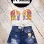 เสื้อแฟชั่น Fiona Embroidery Spaghetti Strap Crop สีดำ thumbnail 12