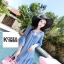 เสื้อแฟชั่น Chillin Summer Blouse thumbnail 8
