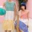 ชุดเดรส Colorful Pattern Sleeveless A-Line Dress thumbnail 1