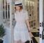เดรสคอปก Haidi Lace Collar Dress thumbnail 6