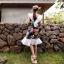 ชุดเดรส Summer Macawbird Pleats Dress thumbnail 2