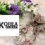 เสื้อแฟชั่น Floral Print Off-Shoulder Organza Balloon-Sleeve Top thumbnail 13