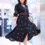 เดรส Boho Embroidery Maxi Dress thumbnail 2