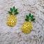 Diamond Pineapple Earrings thumbnail 5