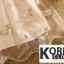 เสื้อแฟชั่น Flower Embroidered Off-Shoulder Mesh Top thumbnail 11