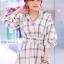 เดรสเชิ้ต Checked Dress Shirt thumbnail 1