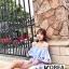 ชุดเดรสแฟชั่น Zara Embroidery Off-Shoulder Dress thumbnail 2
