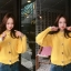คาดิแกนไหมพรม Korea Balloonsleeves Knit Cardigan thumbnail 4