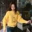 คาดิแกนไหมพรม Korea Balloonsleeves Knit Cardigan thumbnail 1