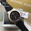 นาฬิกาข้อมือ MICHAEL KORS รุ่น Dylan Chronograph Black Dial Black Rubber Men's Watch MK8184 thumbnail 2