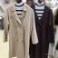 ชุดเซ็ทเสื้อคลุมเบลเซอร์ Set : Knit Long Blazer wt Stripe Knit Top thumbnail 19