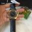 นาฬิกาข้อมือ MARC BY MARC Henry Black Cut-out Dial Gold Ion-Plated Ladies MBM1246 thumbnail 1