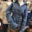 เสื้อยีนส์ Korea washed denim shirt wt belt thumbnail 9