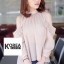Very Pleaty Cut-Shoulder Blouse by ChiCha's thumbnail 2