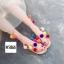 รองเท้าแฟชั่น Summer Pom Pom Sandals thumbnail 1