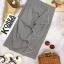กระโปรงแฟชั่น Embellished Check Midi Skirt thumbnail 6