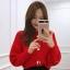 คาดิแกนไหมพรม Korea Balloonsleeves Knit Cardigan thumbnail 7