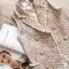 เสื้อเบลเซอร์ CC Sleeveless Long Tweed Blazer thumbnail 4