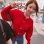 คาดิแกนไหมพรม Korea Balloonsleeves Knit Cardigan thumbnail 8